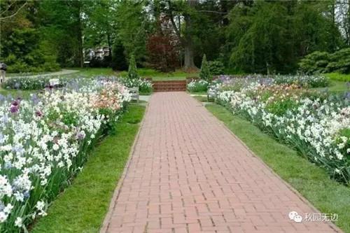 一开始,他并没有宏大的设计图,而是随着感觉,先建一个经典的花园步道