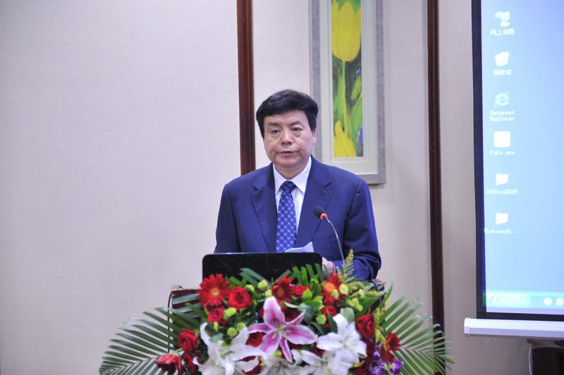 中国林学会理事长赵树丛致辞