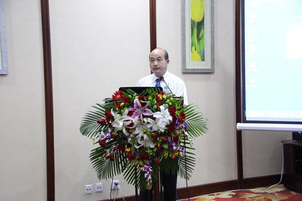 中国林学会副理事长、秘书长陈幸良做会议总结